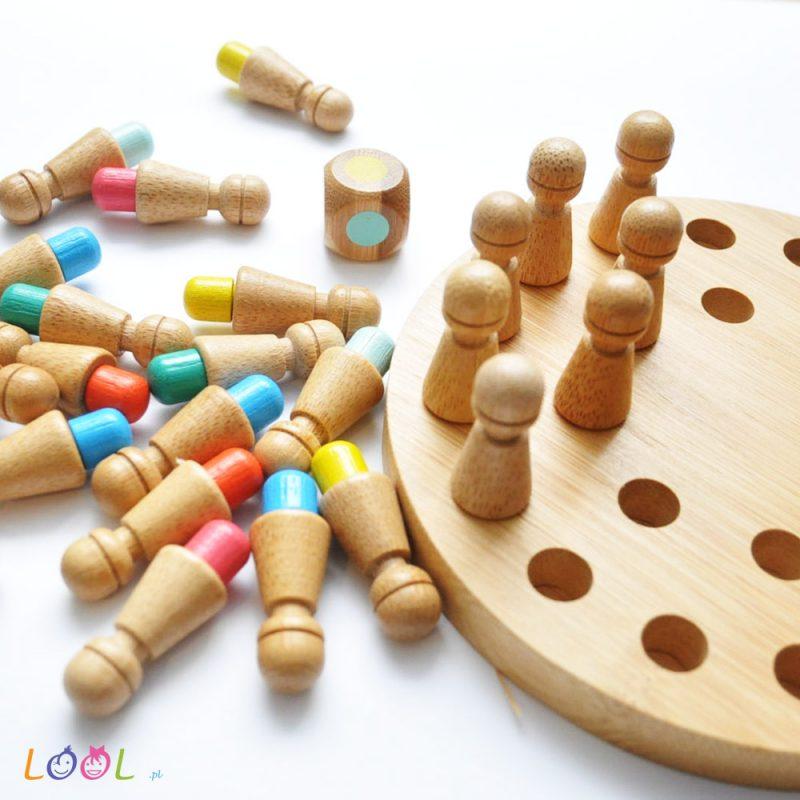 Gra memory - bambus - kolory
