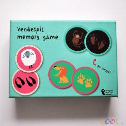 Gra memory - zwierzęta i ich ślady