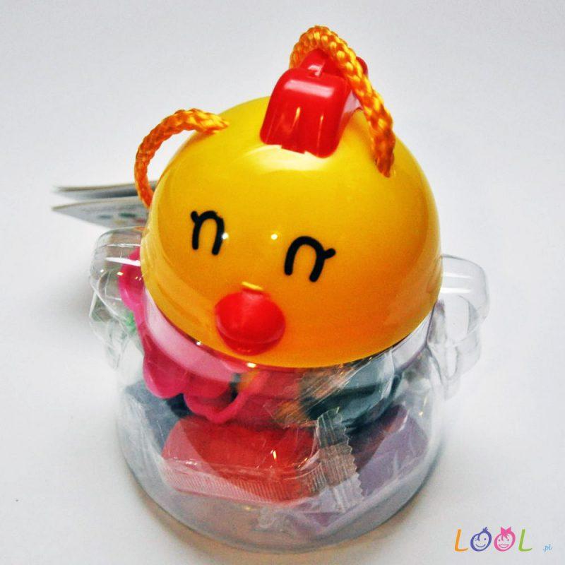 Wielkanocny zestaw ciastoliny dla dzieci - 10 kolorów i 2 foremki